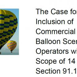 FAA Forms - Hot Air Balloonist