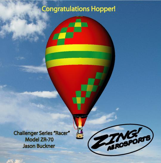Hopper's ZR-70 Racer, Challenger Series.