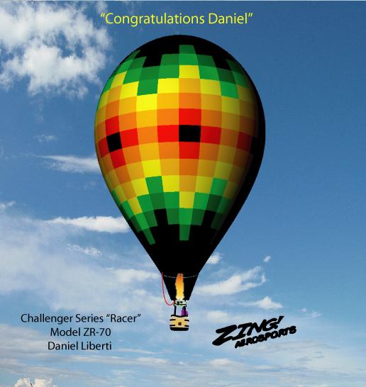 Daniels's ZR-70 Racer, Challenger Series.
