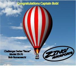 Bob's ZR-70 Racer, Challenger Series.