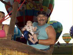 Ava's First Balloon Ride